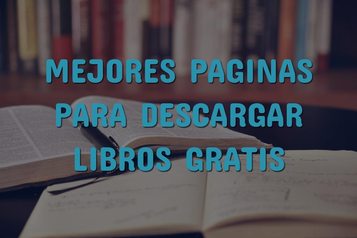 a26902f8dc7f3 Páginas para Descargar Libros Gratis Sin Registrarse  Ebooks